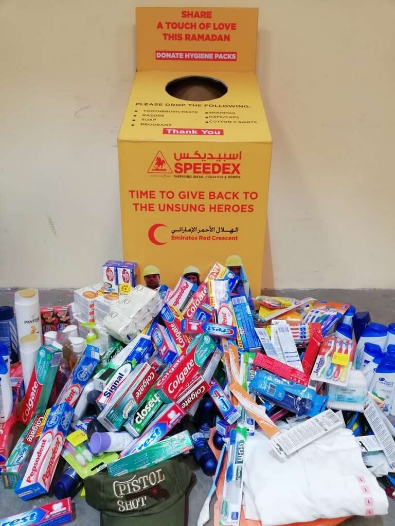 The UAE is giving, sharing and spreading smiles - News