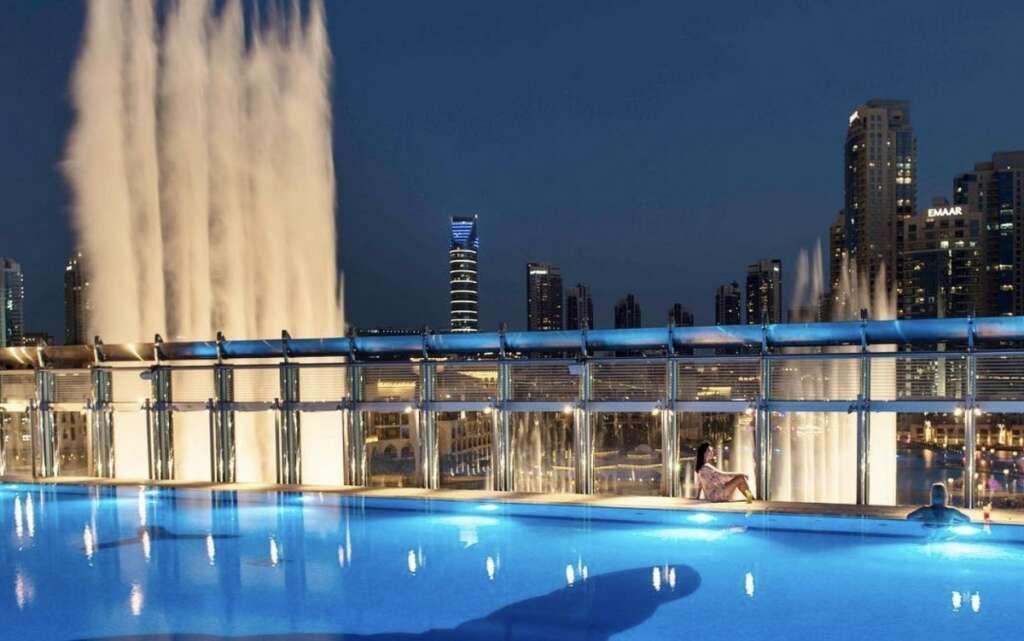 Swim Inside Burj Khalifa Pool For Only Dh75 Khaleej Times
