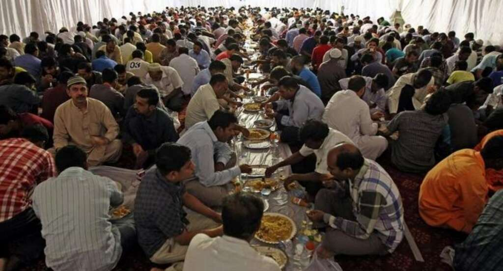 32,000 workers to get free Suhoor meals during Ramadan