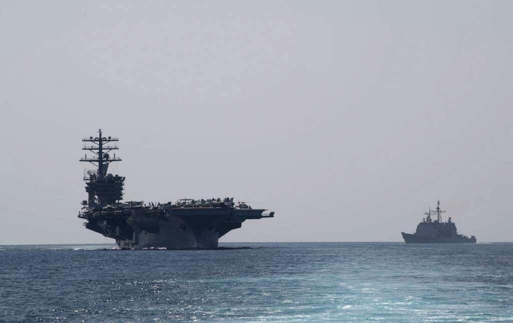 Strait of Hormuz, USS Nimitz, Gulf