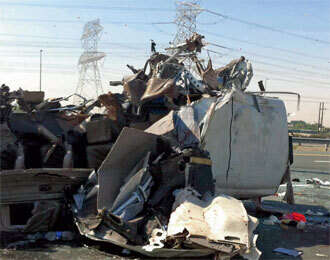 Fatalities and injuries in Dubai road accidents show no abatement