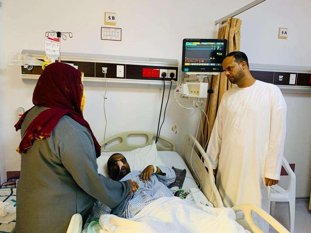 UAE, visitor, coma, 3 months, fly home, Al Qasimia Hospital, hometown, Kerala, Consulate-General of India, Dubai, UAE