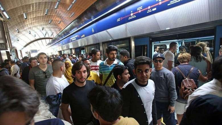 Video: Things thatll get you fined on Dubai Metro