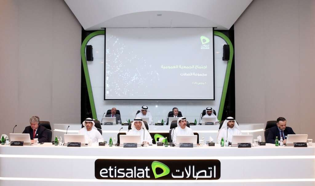 Etisalat approves full-year 2018 dividends at 80 fils per