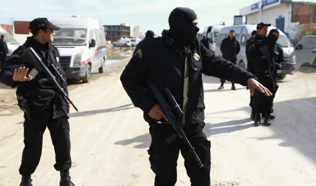 Nine police killed in attack in Tunisia near Algeria border