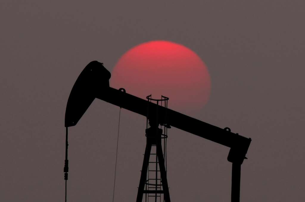 Oil on track for biggest yearly rise since 2016
