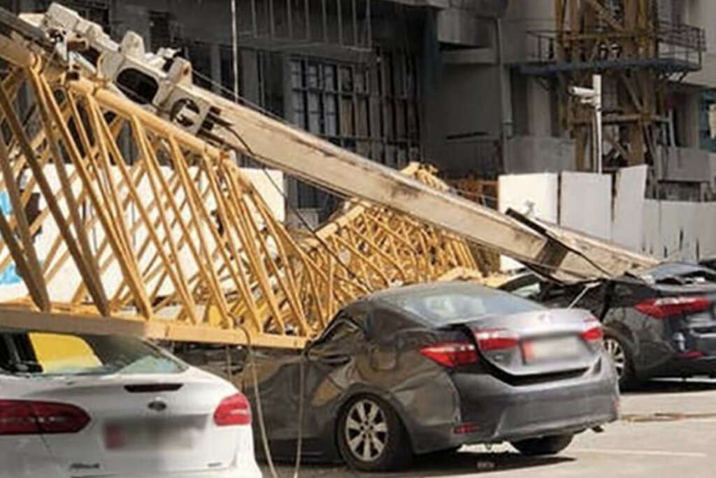 Abu Dhabi crane crash: All projects of contractor, consultant suspended