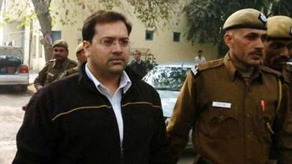 Jessica Lal, murderer, Manu Sharma, released, Tihar Jail, India