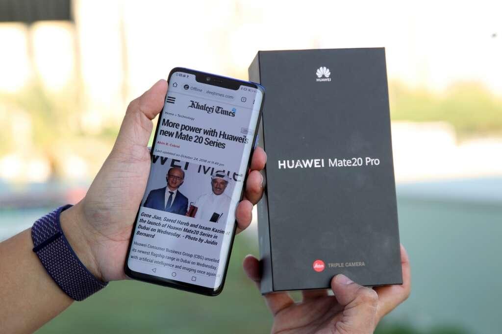 REVIEW: Huawei Mate 20 Pro - Khaleej Times