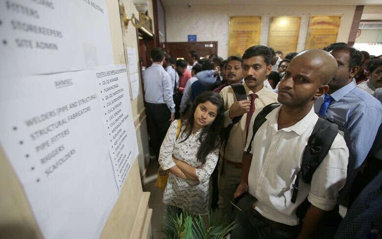Few Indian amnesty-seekers turn up at job fair in Abu Dhabi