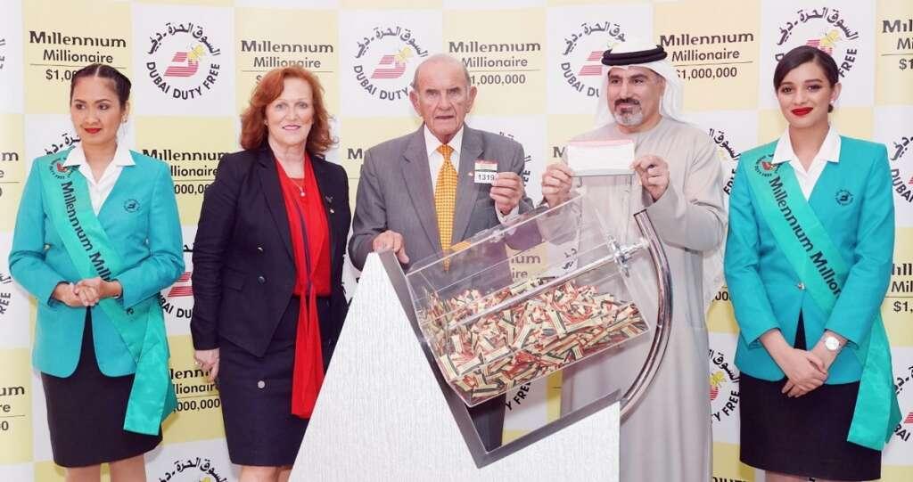 Dubai duty free, indian baby boy, $1 million, DDF