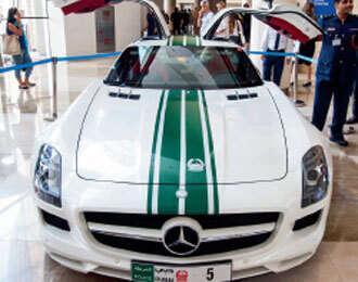 More luxury sports cars to join Dubai Police fleet