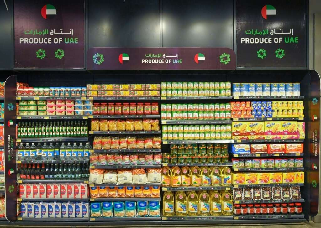 Abu Dhabi Agriculture and Food Safety Authority, local, agri-products, major stores, Sheikh Mansour bin Zayed Al Nahyan