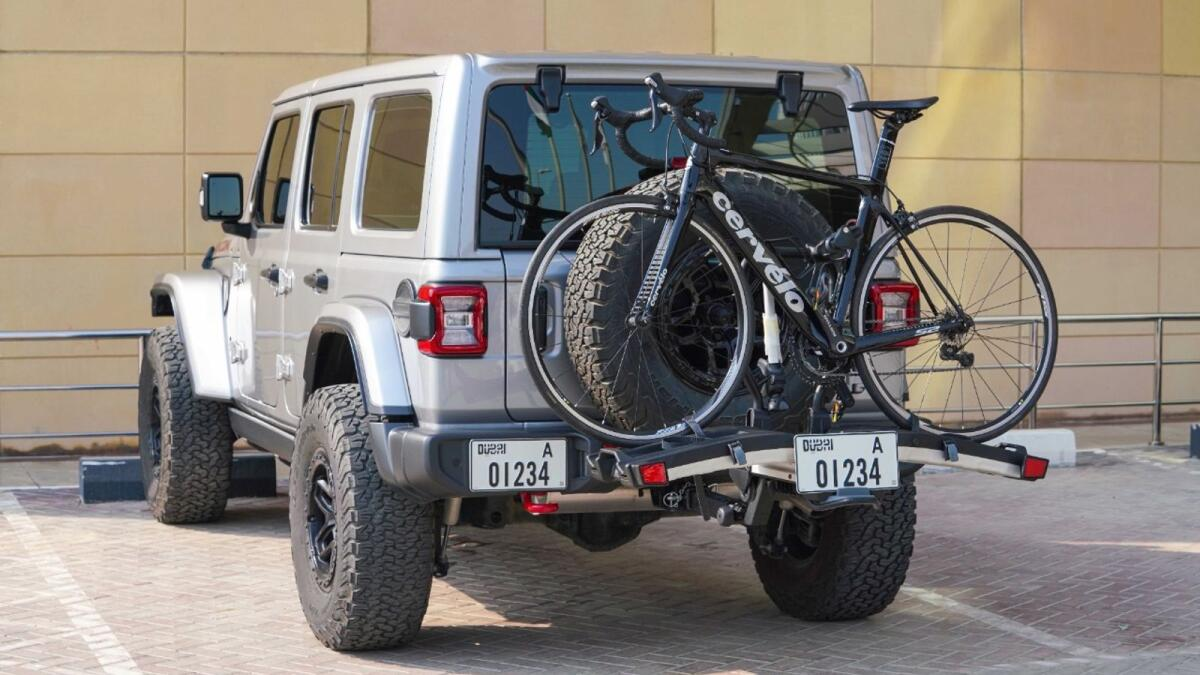 Dubai: Pay Dh35 for additional car number plate for bike racks