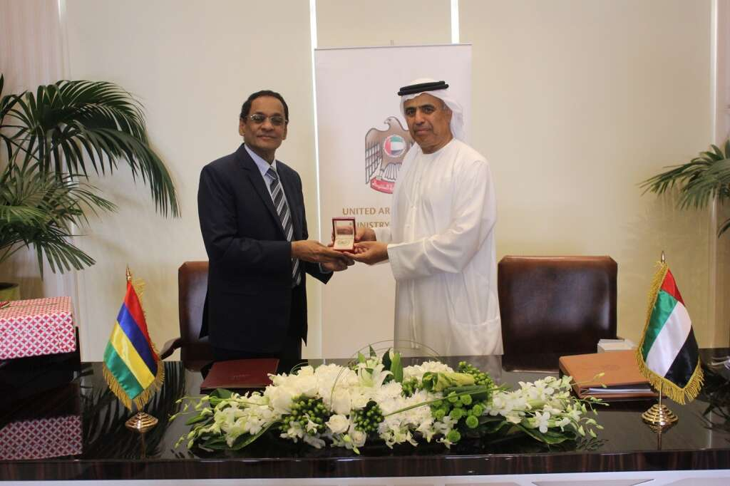 UAE, Mauritius ink pact for bilateral investments