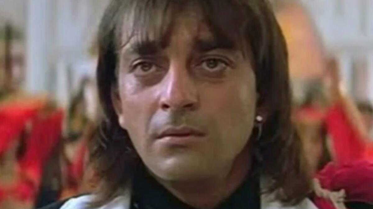 Sanjay Dutt in the 1983 hit film Khalnayak