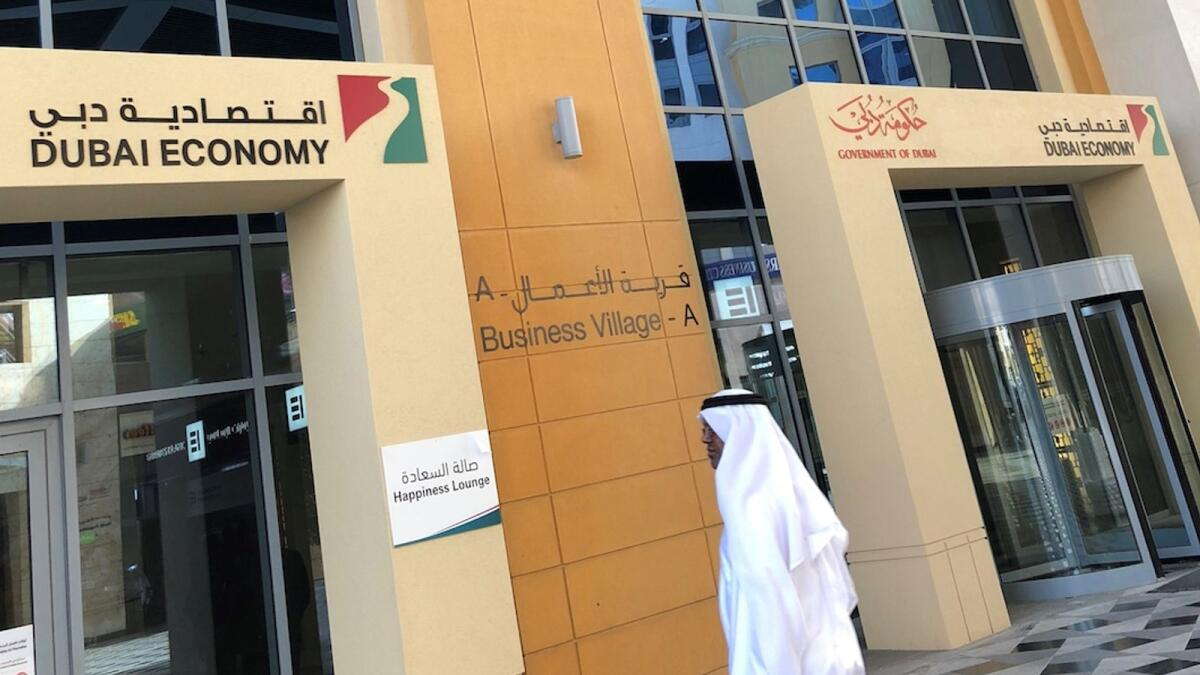 Dubai Economy said it issued 5,885 new licences last month compared to 2,829 in the same period last year, reflecting a year-on-year growth of 54 per cent. —̦ File photo