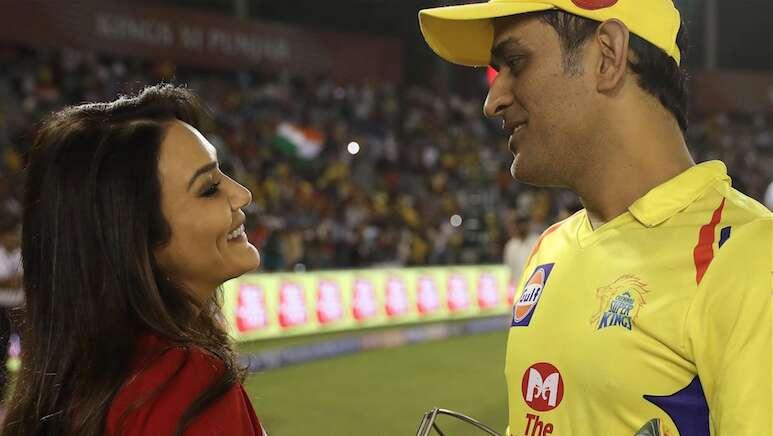 Preity Zinta, MS Dhoni, retires, retirement, Bollywood, actor