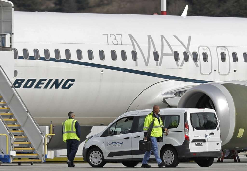 Two airlines, ground, Boeing 737 Max, March 2020, Southwest Airlines, American Airlines, globally grounded