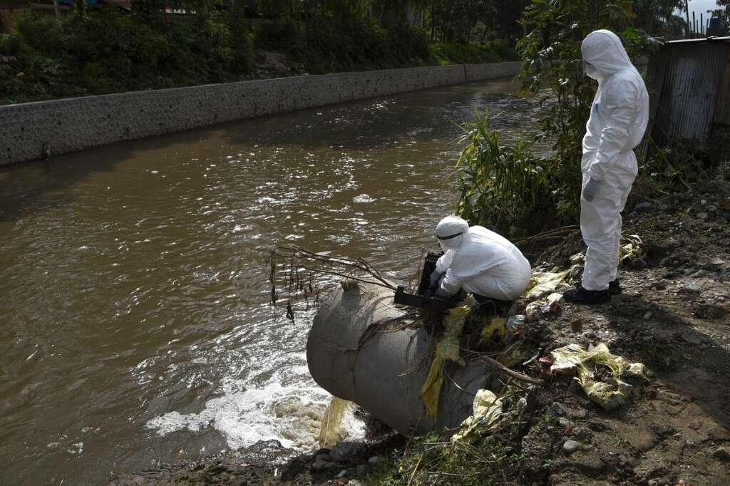 Sewage, Nepal, virus warning tool