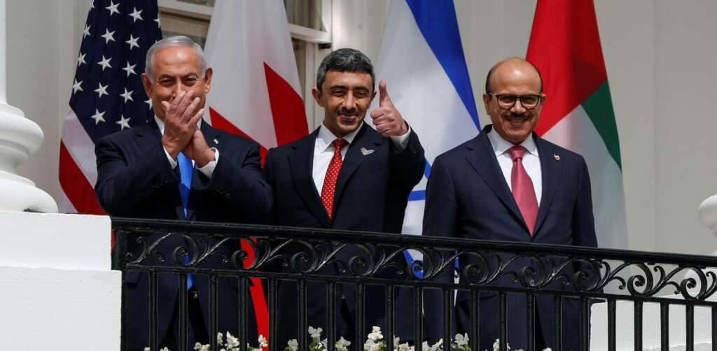 Sheikh Abdullah bin Zayed Al Nahyan, Minister of Foreign Affairs and International Cooperation, uae, israel, peace, accord, united states, washington, white house
