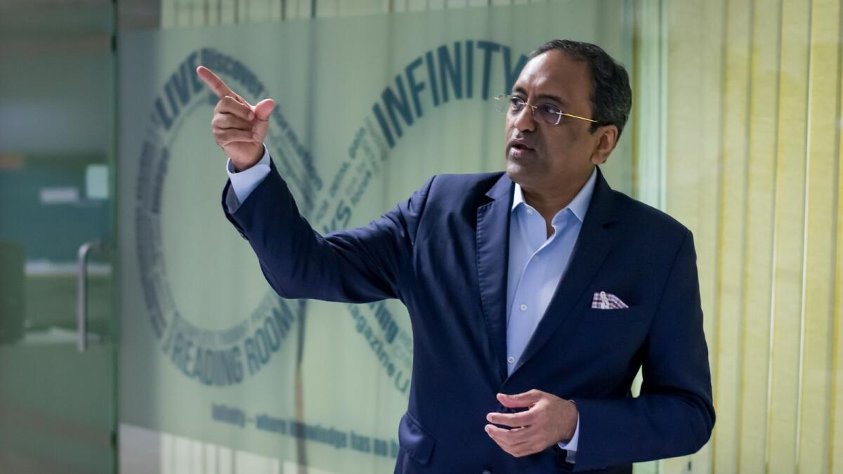 S. N. Subrahmanyan, CEO and MD of L&T, said the India pavilion at the Dubai Expo 2020 offers a golden opportunity to showcase India to the world and project our country as the next hub for growth and innovation. — Supplied photo