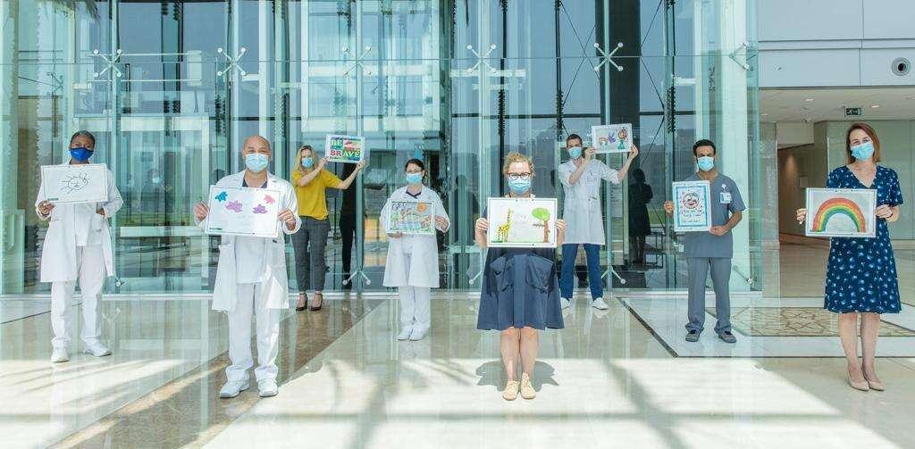 covid-19, coronavirus, pandemic, Abu Dhabi, UAE, isolation, Aspen Heights British School, students, paintings, hope, inspiration, Cleveland Clinic Abu Dhabi