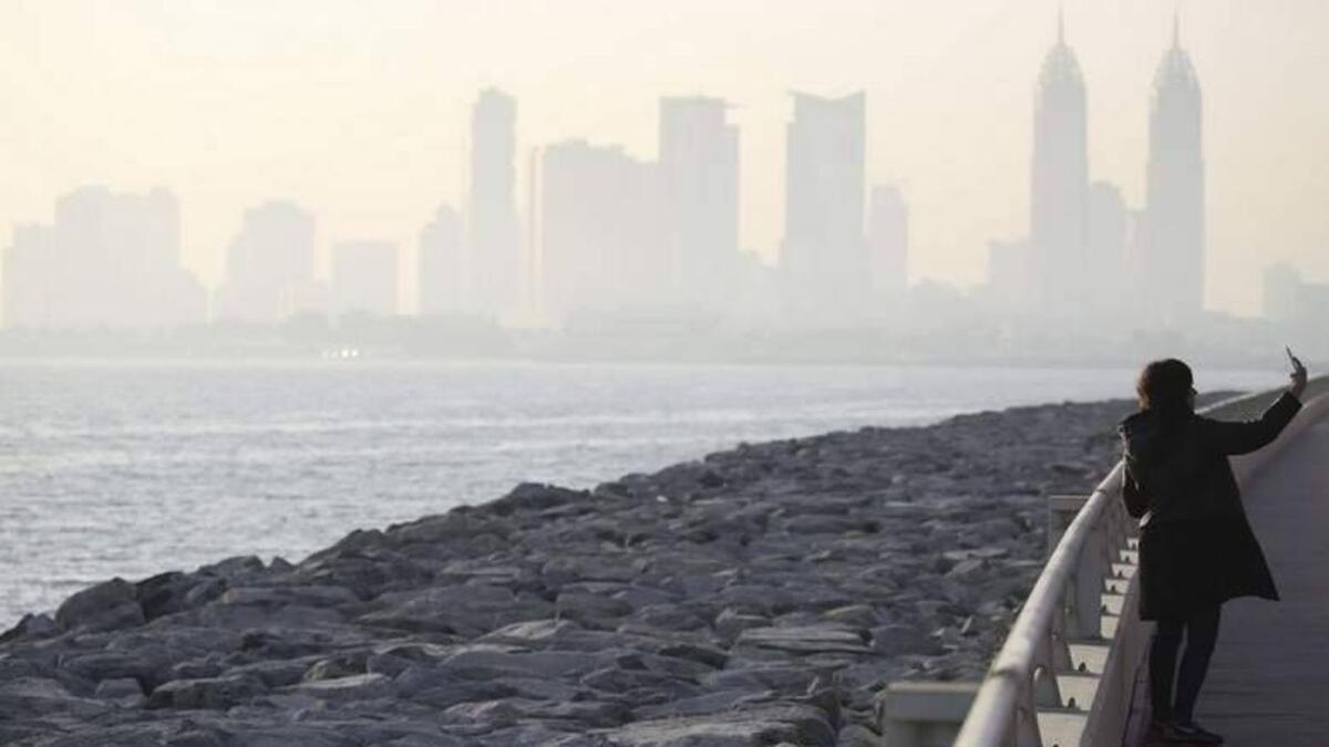 UAE weather: Partly cloudy, hazy forecast for Monday