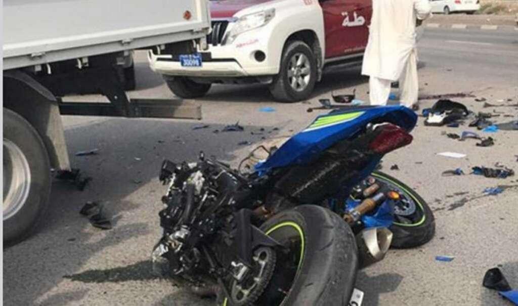 24-year-old Emirati motorbiker killed in UAE road accident