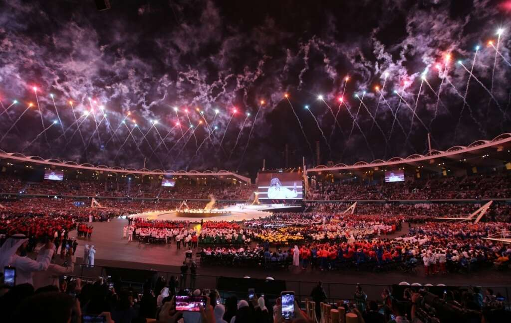 UAE cheers at opening ceremony of Special Olympics