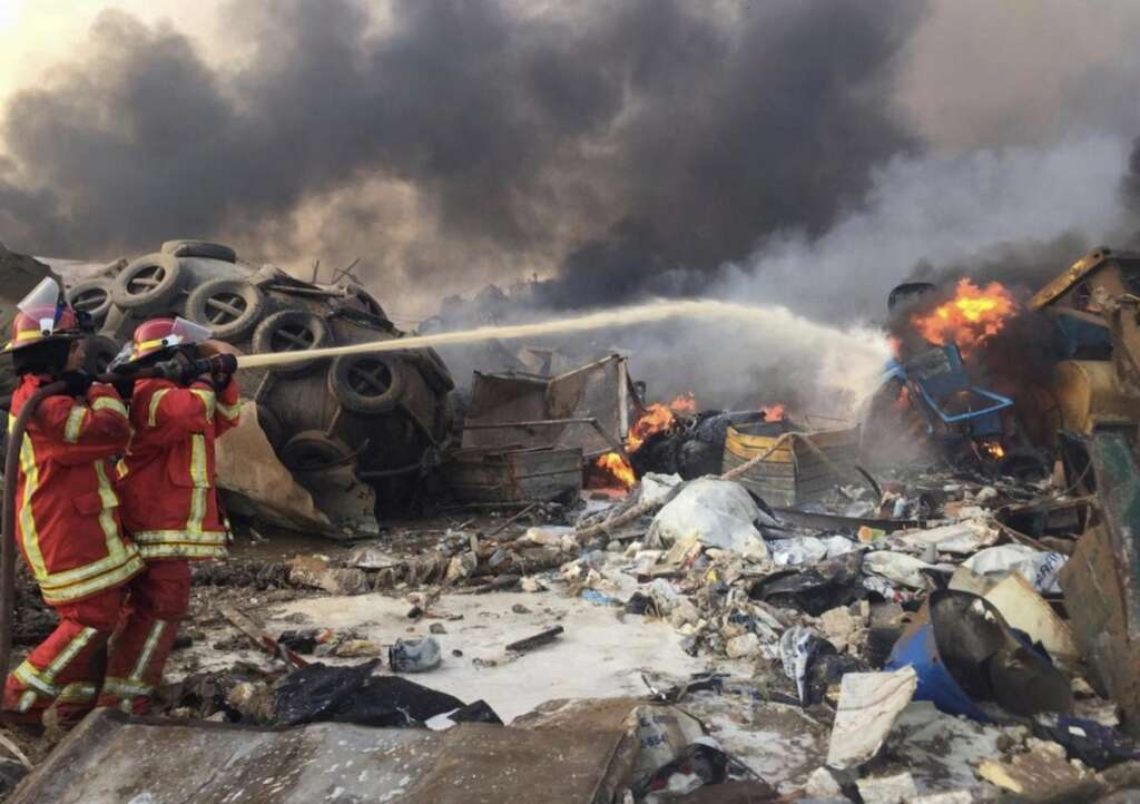 Lebanon blast, Sheikha Jawaher, launches, donation drive, blast victims