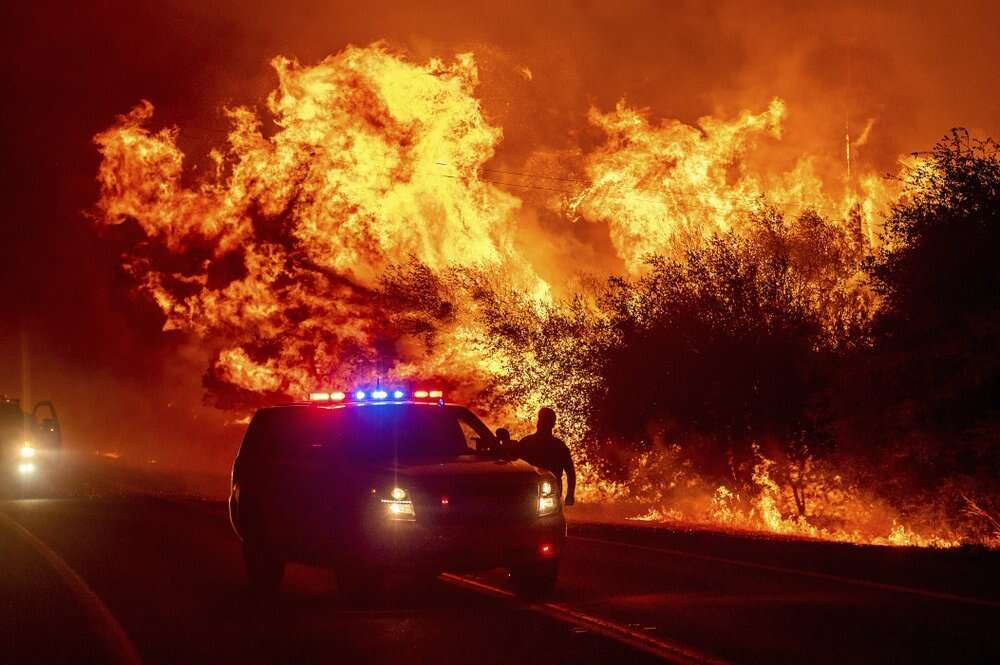 wildfires, once in a generation, united states, western, ravaged