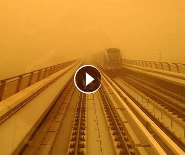 Dust-storm hits entire Gulf region