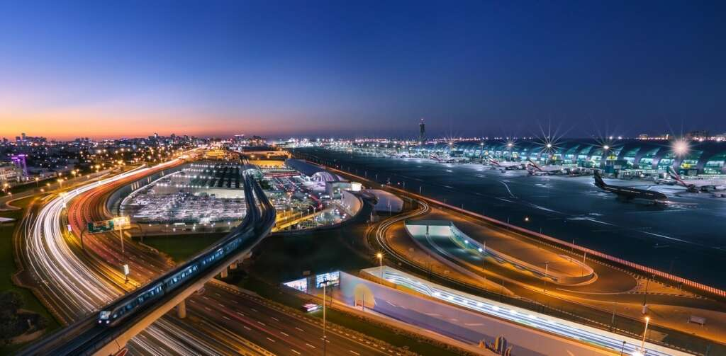 taxiDXB, Dubai Airport, free taxi service, Terminal 3