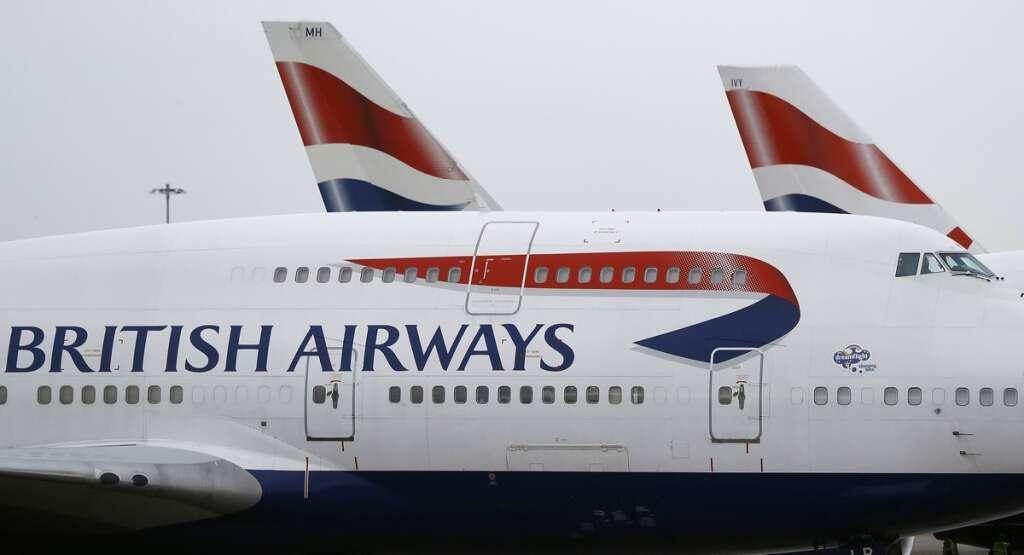 New York, London, five hours, British Airways,