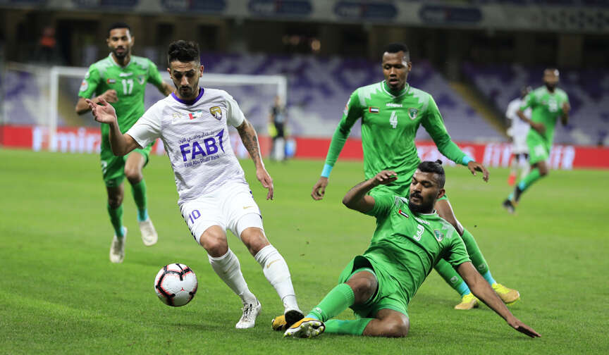 Al Ain held goalless by Emirates in AGL clash