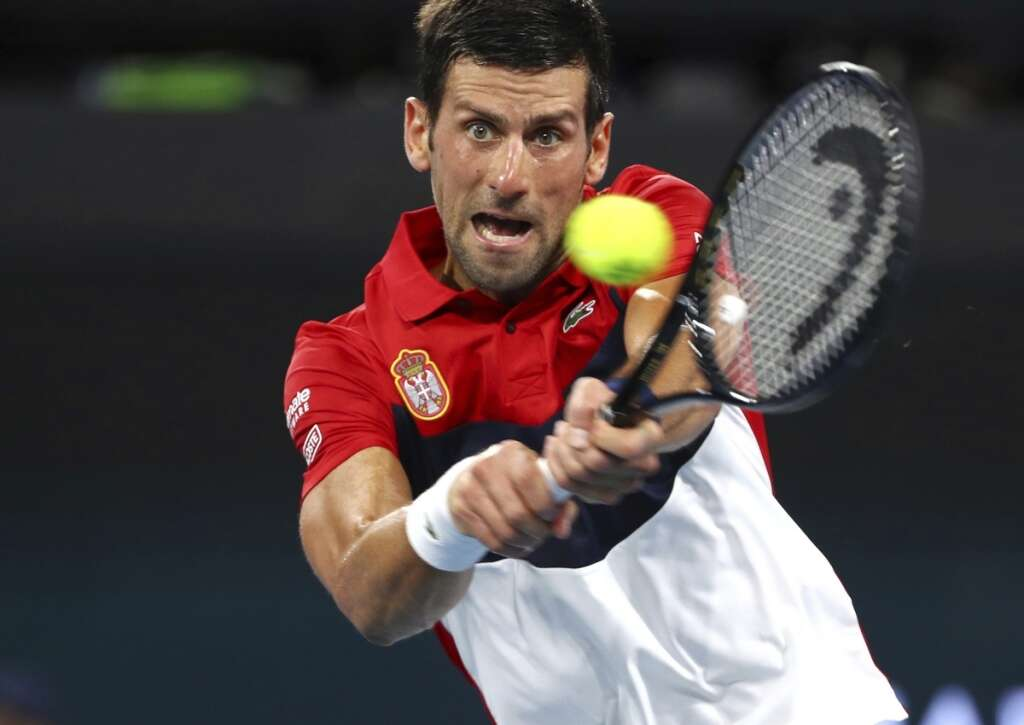 ATP Cup: Convincing wins for Nadal and Djokovic