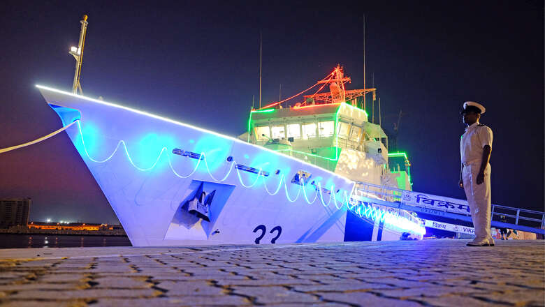 Indian coast guard ship in UAE for joint training exercises