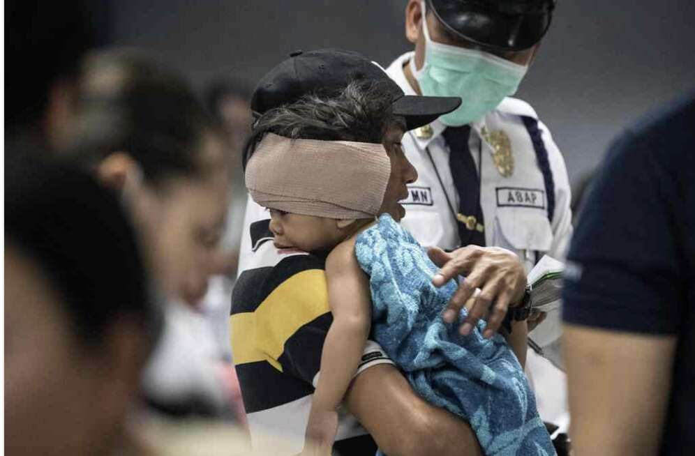 Nearly 200 hurt in Philippine New Year celebrations