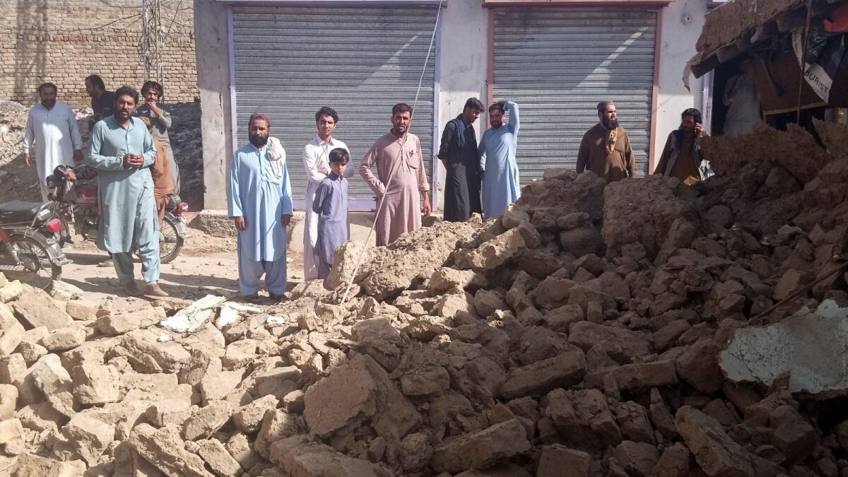 Pakistan: At least 20 killed in earthquake