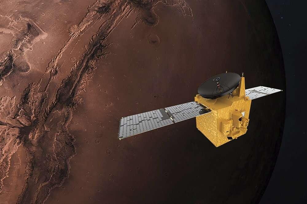 Mars, invaded, plant earth, fleet of spacecraft, United States, China, United Arab Emirates