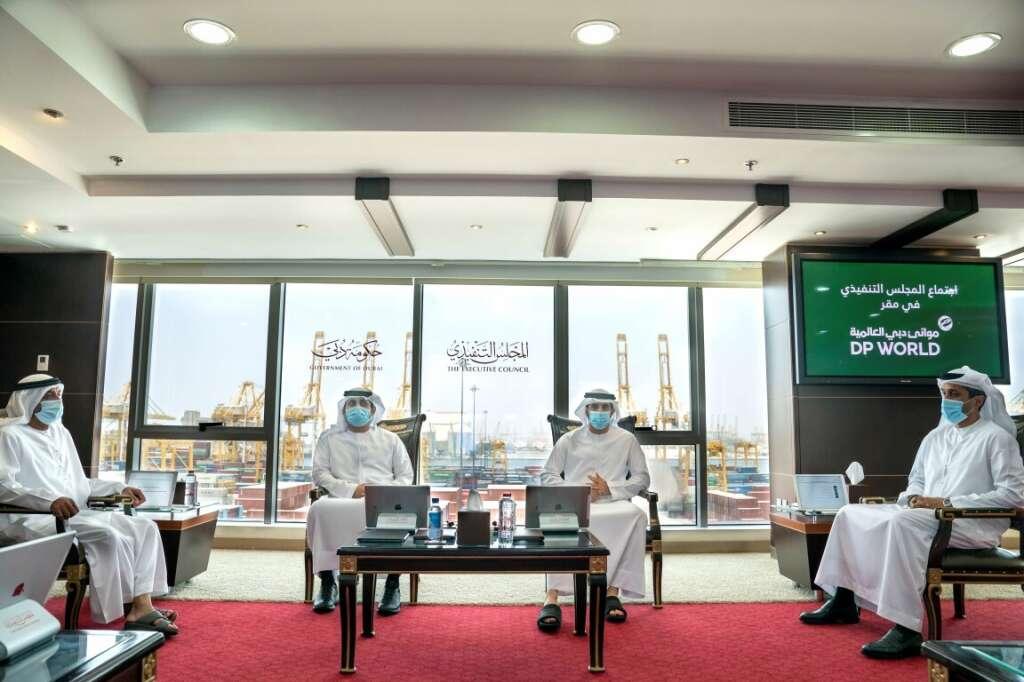 Sheikh Hamdan bin Mohammed bin Rashid Al Maktoum, Dubai, Crown Prince, stable, economy, meeting, Executive Council, Jebel Ali Port