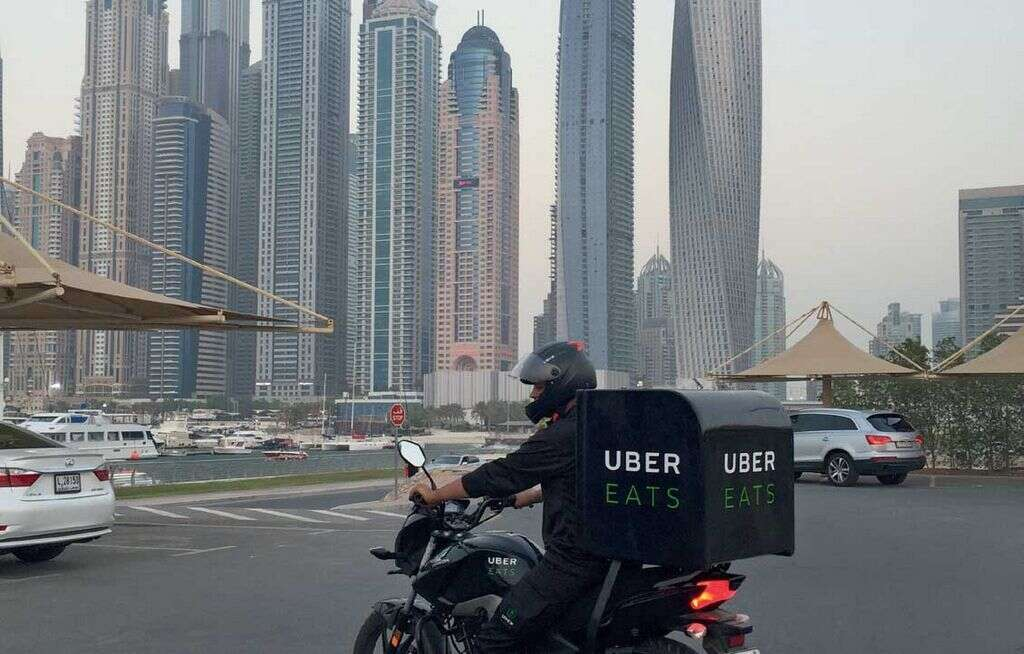 UberEats service is now available in 22 major cities.
