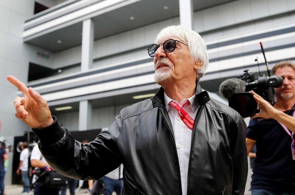 Bernie Ecclestone, Fabiana Flosi, Formula1