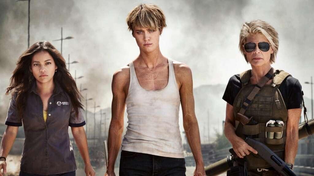 Terminator Dark Fate Review mackenzie davis linda Hamilton