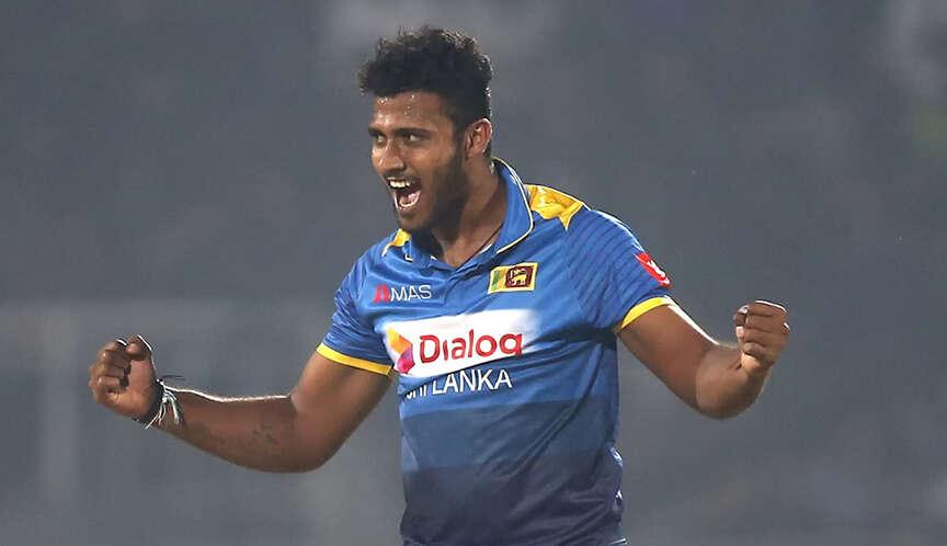 Sri Lanka cricketer Shehan Madushanka detained on drug charge