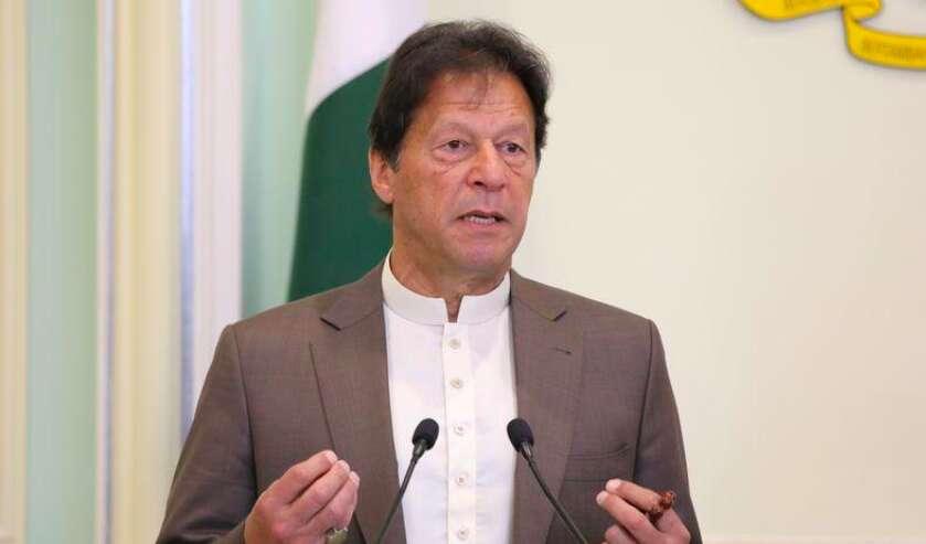 Imran Khan, Pakistan Stock Exchange attack