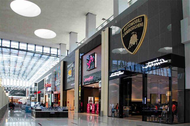 First Lamborghini Fashion Store Outside Italy Opens In Dubai