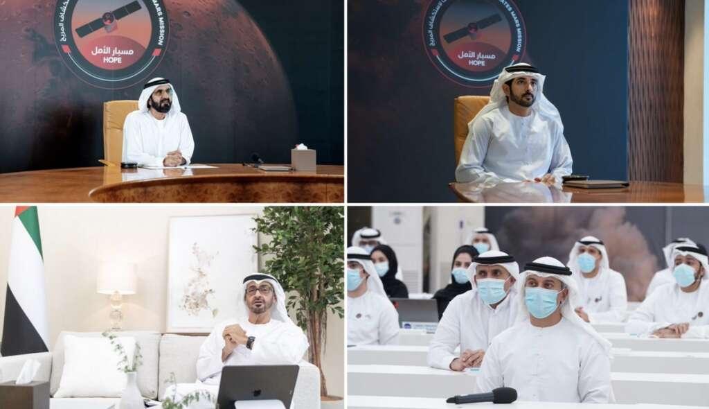 UAE leaders, laud, Mars team, hard work, launch, happen, amid, Covid-19