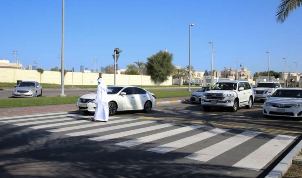 Up to 15,000 UAE drivers fined Dh500 for failing to give way to ...